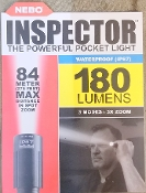 INSPECTOR 180 Lumen 3x Adjustable Zoom Waterproof Flashlight